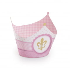 Wrapper p/Cupcake Reino Menina c/12 Cromus
