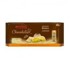Chocolate Mavalério Chocolatier Branco 1kg