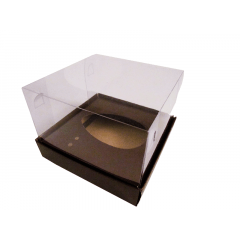 Caixa para Ovo de Páscoa de Colher 250g Marrom Csr