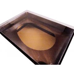 Caixa para Ovo de Páscoa de Colher 500g Marrom Csr