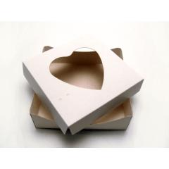 Caixa Color de Acetato para Coração de Colher 250g Agabox