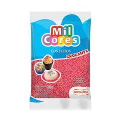 Confeito Miçanga N0 Rosa 500g