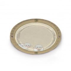 Bandeja Sonho de Carneirinhos 31,5 cm Cromus