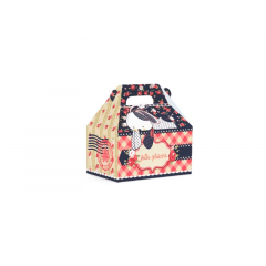 Caixa maleta kids Mensagem Páscoa G 15x10x15 cm Cromus