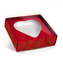 Caixa Para Coração Gabriella 12x12x4 Cromus