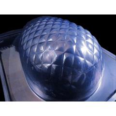 Forma Prática com Silicone para Ovo 500gTextura Metalassê Bwb