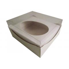 Caixa para Ovo de Páscoa de Colher 350g Branca Agabox