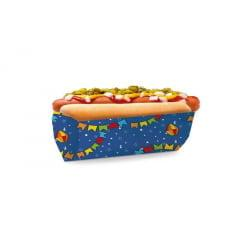 Saco para Hot Dog Festa Junina Azul c/50 unidades – Cromus