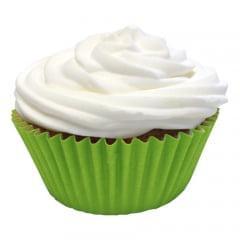 Forminha para Mini Cupcake Impermeável Greasypel Verde Limão c/45 Mago