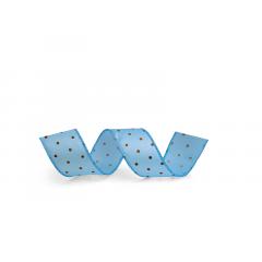 Fita de Cetim Azul 9,14m Cromus