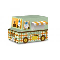 Caixa Food Truck para Ovo - Os 3 Coelhinhos - Cromus
