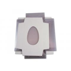 Caixa para Ovo de Páscoa de Colher 350g c/10 unidades - Agabox