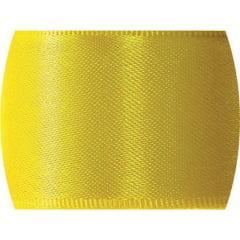 Fita de Cetim Lisa n°0 Amarelo Gema – CF763 – Progresso