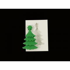 Molde de silicone Árvore de Natal - Mzl