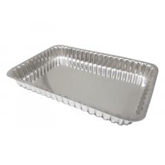 Forma para Torta Retangular Frisada 30x20x3,5cm – Caparroz