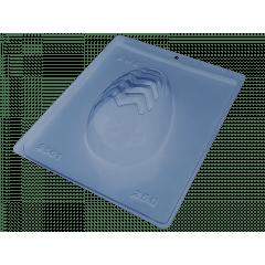Forma Prática com Silicone para Ovo Vazado Estriado 250g N9561 – Bwb