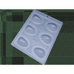 Forma Prática com Silicone para Ovo Liso 30g N9454 – Bwb