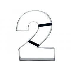 Aro Cortador Number Cake Número 2 – Caparroz