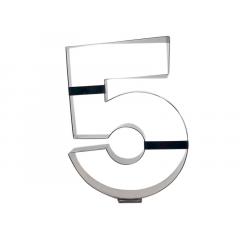 Aro Cortador Number Cake Número 5 – Caparroz