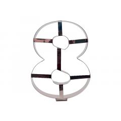Aro Cortador Number Cake Número 8 – Caparroz