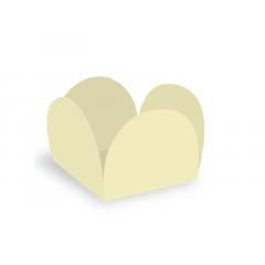 Forma para Doce Caixeta 3,5cm Vanilla c/40 - Ultrafest