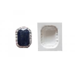 Molde de Silicone Jóia Retangular 15 S1995 – Gummies