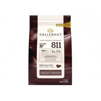 Callets Callebaut Chocolate Amargo 54,5%  1kg