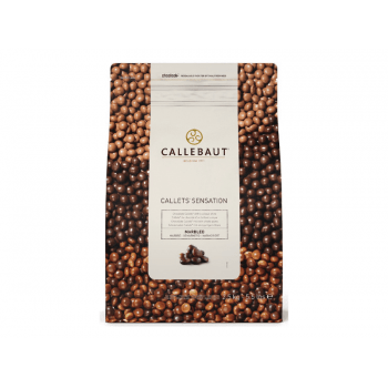 Callets Callebaut Chocolate Amargo e Branco 2,5kg