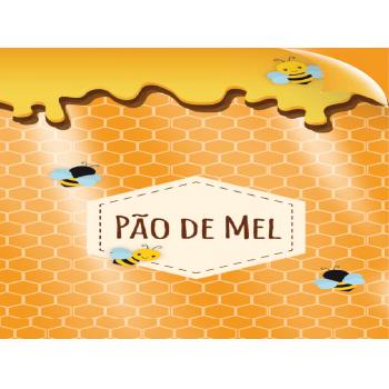 Saco Poli Pão de Mel 10x14 cm c/50 Unidades - Cromus