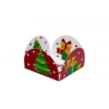 Forminha Caixeta para Doces Natal 01 com 50 unidades – Decora Doces
