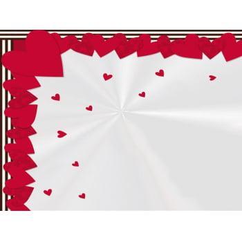 Embalagem Express para Coração de Chocolate e  Ovo de Páscoa 37,5x37,5 cm c/5 – I Love – Cromus