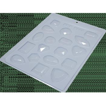 Forma de Acetato Pedras Preciosas N9744 - BWB