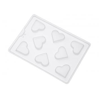 Forma de Acetato Semi Profissional Coração Médio Liso SP35 - Nishimoto