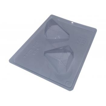 Forma Prática com Silicone para Ovo Diamante 100g N1416 – BWB