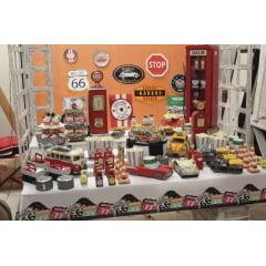 Faixa Feliz Aniversário Garage Cromus