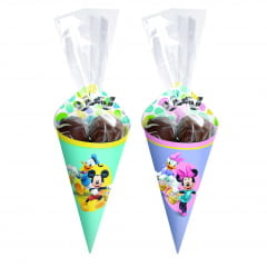 Kit Cone para Páscoa Disney c/12 Cromus