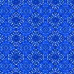Papel Metalizado Bandana Azul 69x89 cm c/5 Cromus