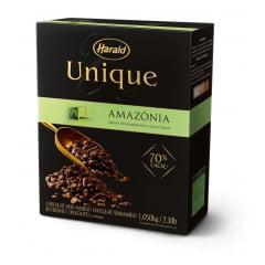 Chocolate Harald Unique Gotas Amazônia 70% 1,05kg