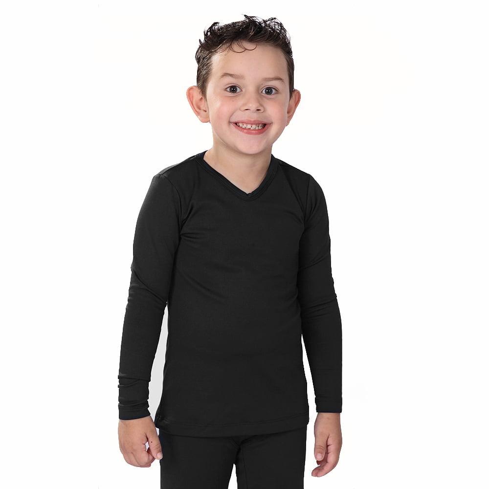 Blusa Térmica Infantil Menino Segunda Pele - Preta
