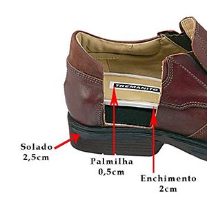 Sapatos para Aumento de Altura - 5502MI