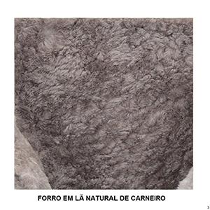 Botas Forradas com Lã Natural de Carneiro Masculinas - 1010cM3