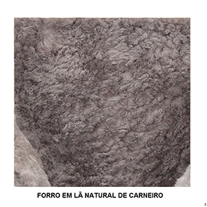 Botas Forradas com Lã Natural de Carneiro Masculinas - 1002cM3