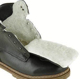 Botas Masculina Linhas Neve Forrada com Lã Sintética - 4543M3