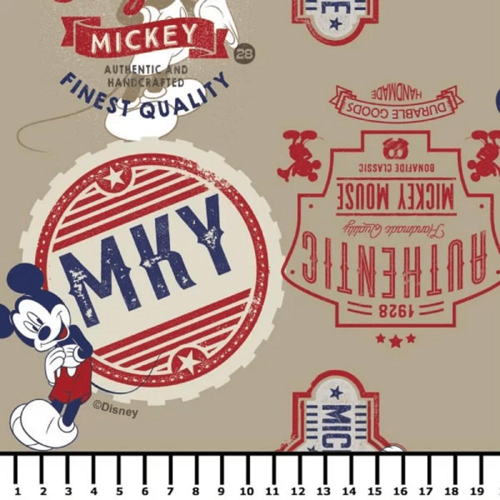 Tricoline Personagens Mickey MK003C01 TECIDO TRICOLINE ESTAMPADO