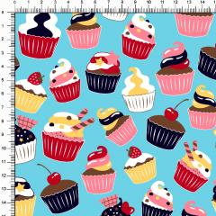 Tricoline Cupcake DX6401-02