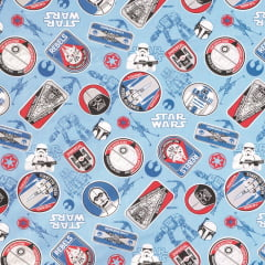 Tricoline Personagens Star Wars D12A TECIDO TRICOLINE ESTAMPADO
