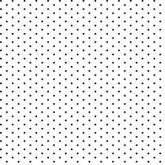 Tricoline Bolinhas Micro P1002-103 Branco com Preto