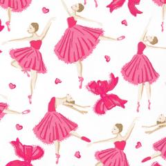 Tricoline Bailarinas Rosa 1 - Infantil