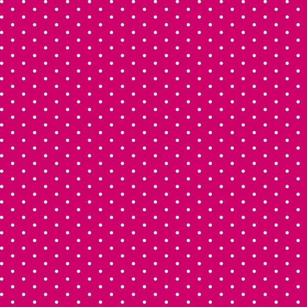 Tricoline Bolinhas Micro P1002-108 Pink  - Bolinhas • Poás