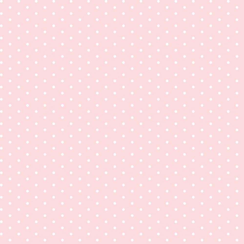 Tricoline Bolinhas Micro P1002-81 Rosa - Bolinhas • Poás